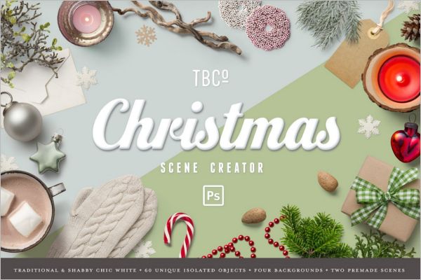 Christmas Scene Decoration