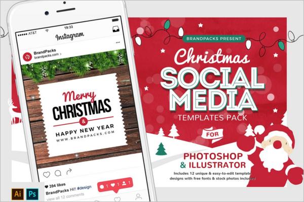 Christmas Social Media Template