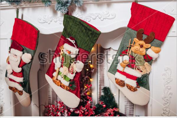 Christmas Stocking Craft Idea