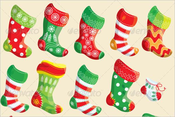 Christmas Stocking Design Bundle