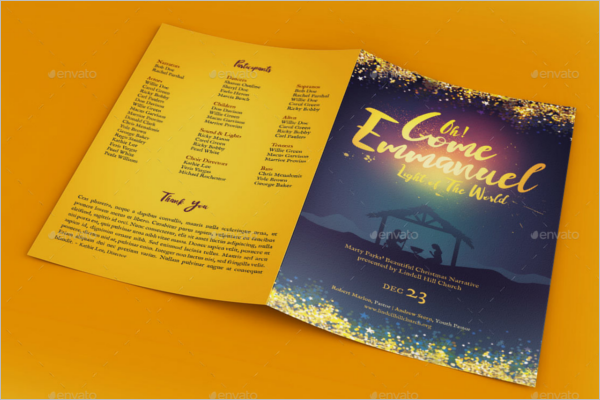 Christmas Story Booklet Design
