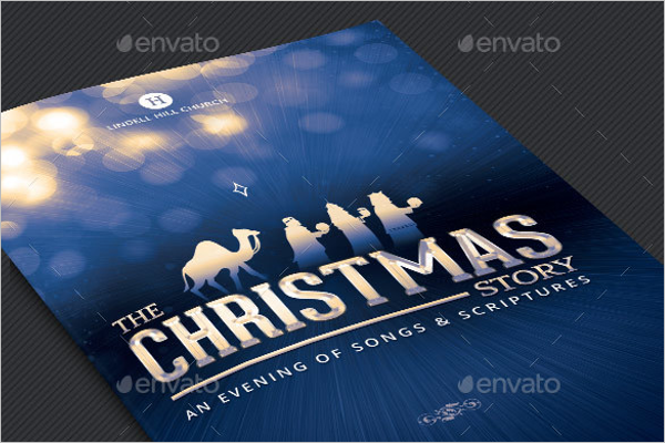 Christmas Story Booklet Template