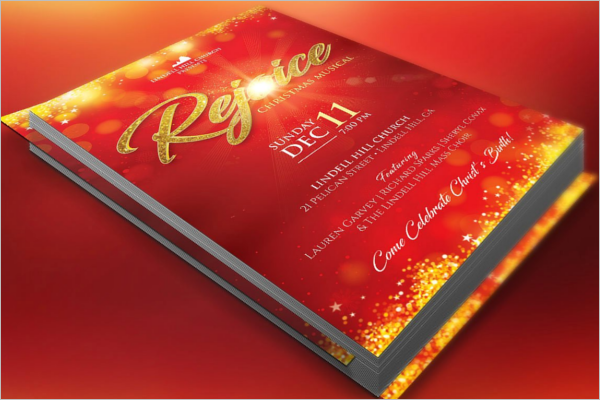 Christmas Story Flyer Template