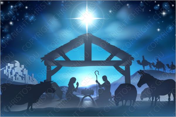 Christmas Story Scene Design