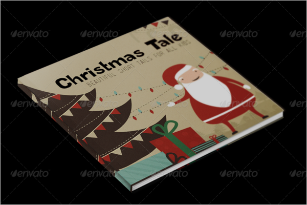 Christmas Tale Book Template