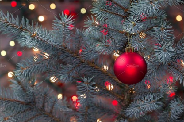 Christmas Tree Decorative Template