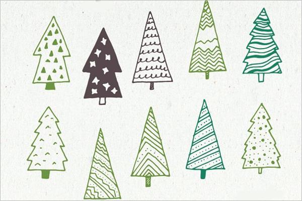 Christmas Tree Drawing Workshop