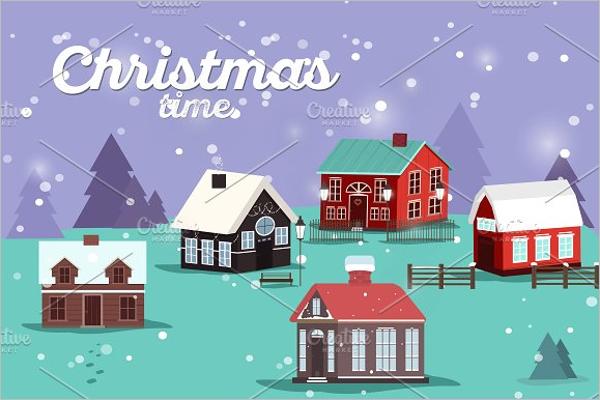 Christmas Village Decorations Ideas