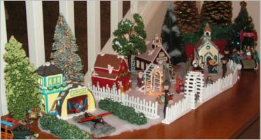 Christmas Village Decorations