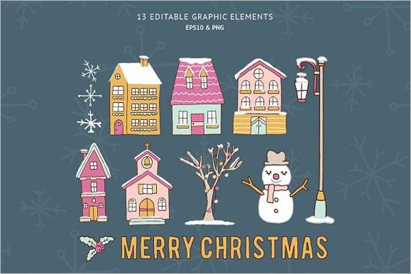 Christmas Village collection Design