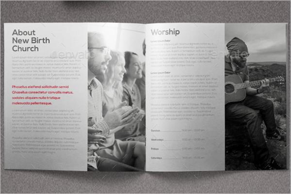 Church Brochure Content