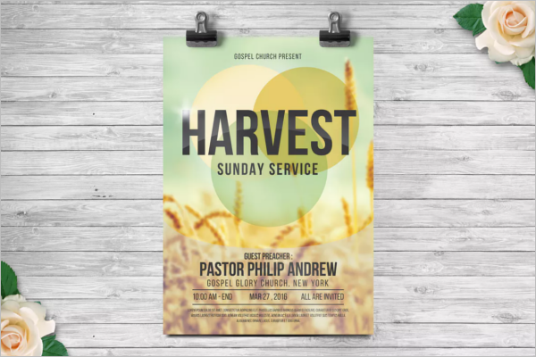 Church Anniversary Poster Template