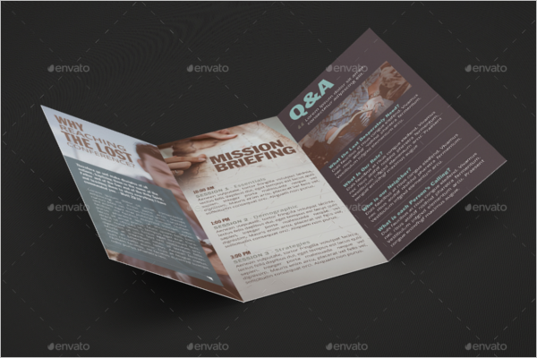 Church Brochure Design Template