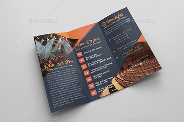 Sample Church Brochure Templates Free PSD PDF Design Ideas - Free church brochure templates