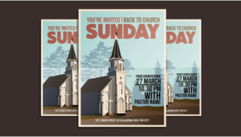 Church Conference Poster Templates