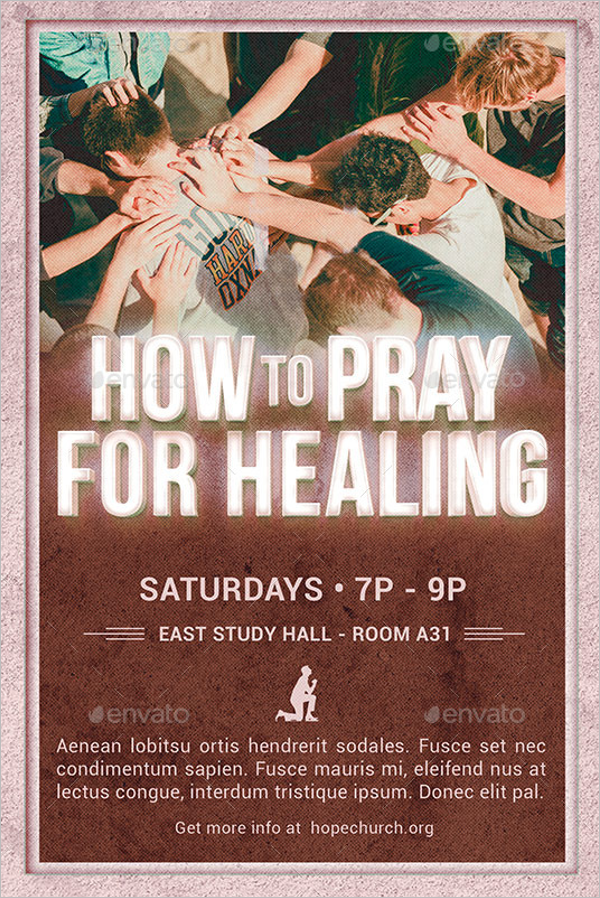 Church Poster Template PSD