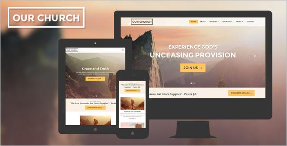 ChurchWebsite Template