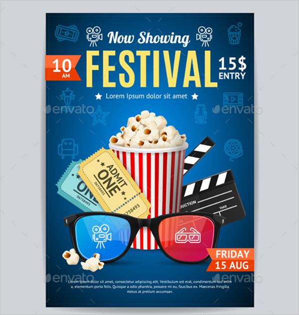 Cinema Movie Poster Template