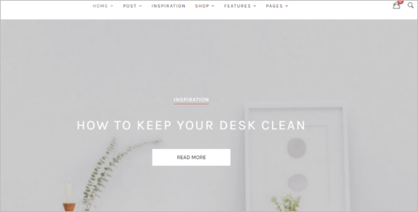 Clean & Simple Website Template