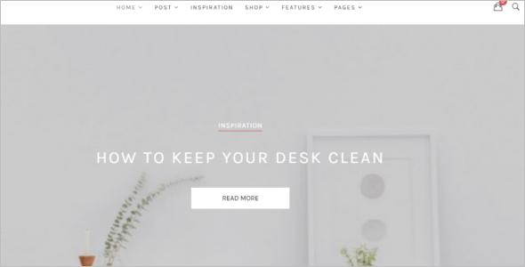 Clean & Simple Website Template