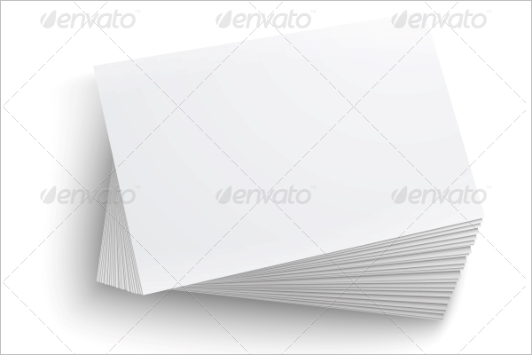 Clear Business Card Template