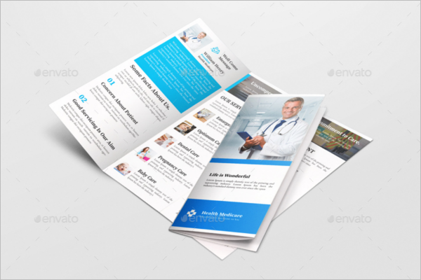 46 medical brochure templates free pdf examples designs for Clinic brochure template