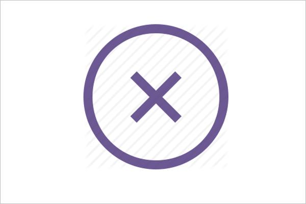 Close Icon Design