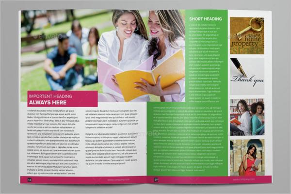College Brochure Design Idea