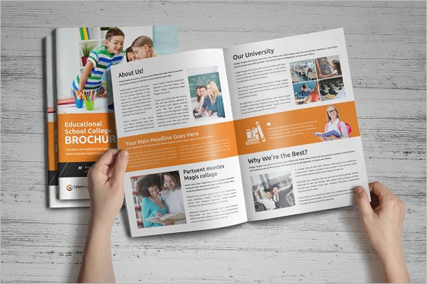College Event Brochure Template