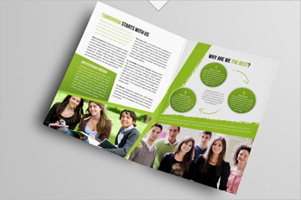 College Fest Brochure Design