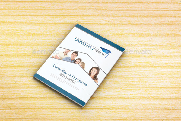 College Placement Brochure Template