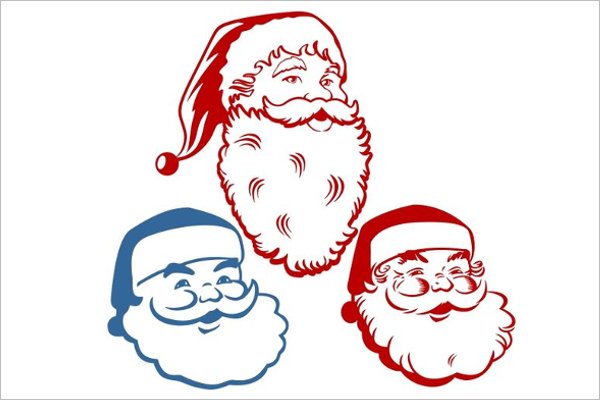 Colorful Christmas Drawing Design