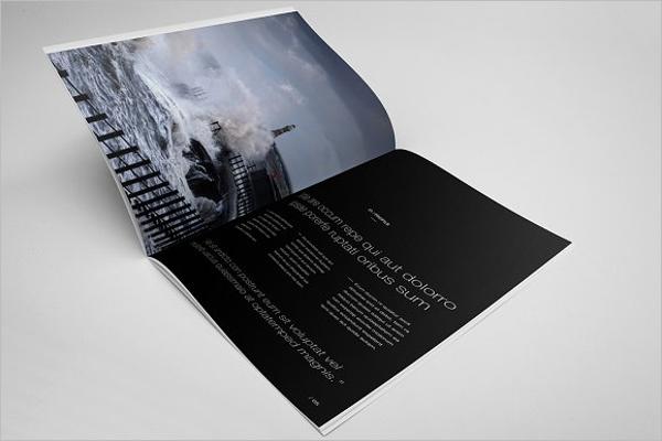 Company Annual Report Brochure Design