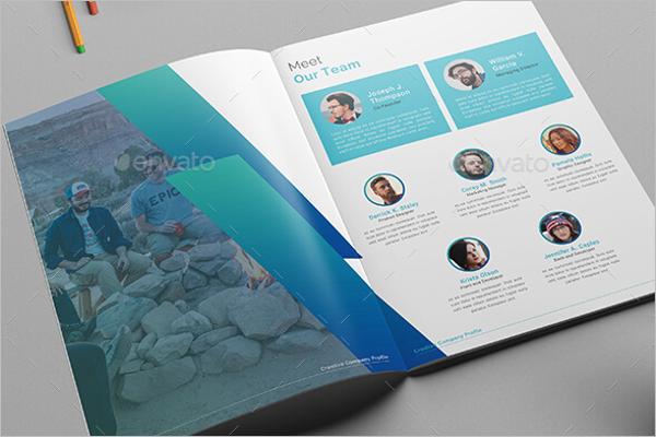 Company Brochure Design Idea