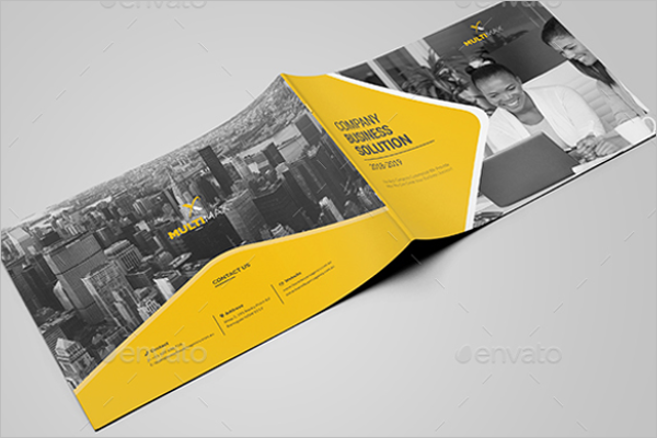 Company Brochure Template PPT