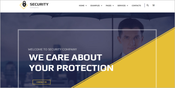 Company Website WordPress Theme