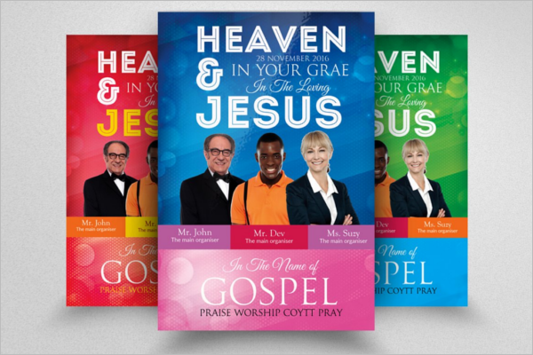 Conference Church Poster Template