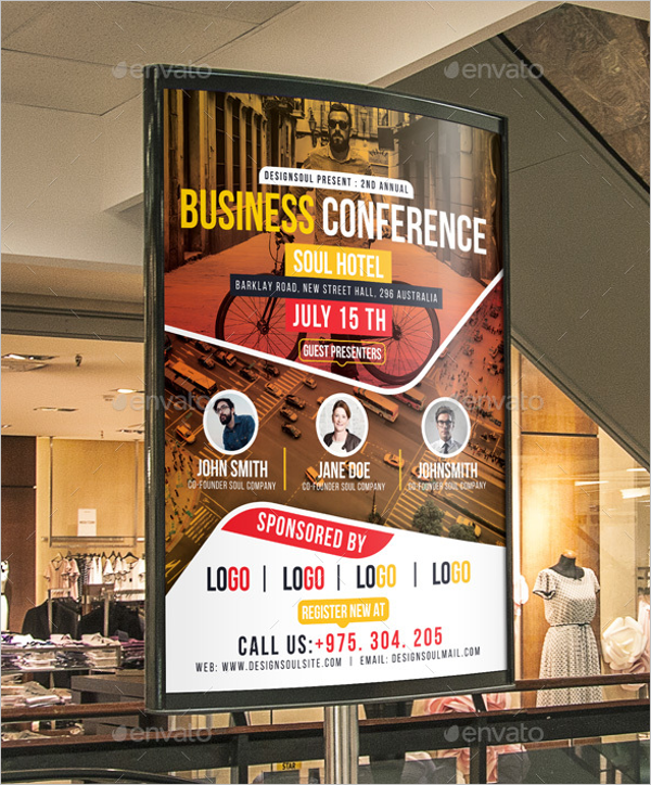28 Conference Poster Templates Free Sample Example Formats