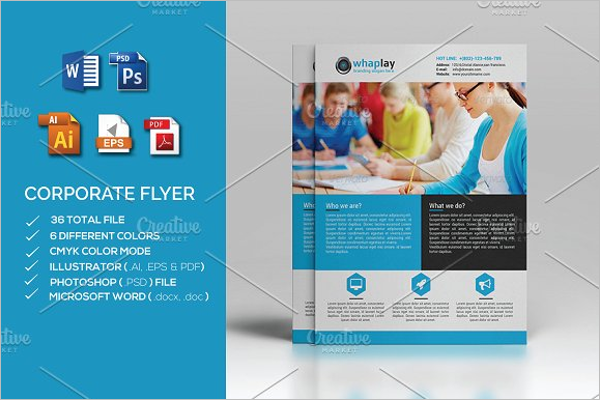 Corporate Flyer MS word