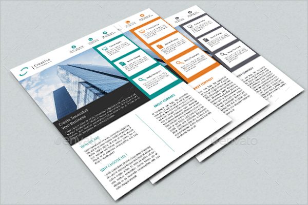 Corporate Flyer Template Word