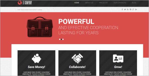 Corporate IT WordPress Theme