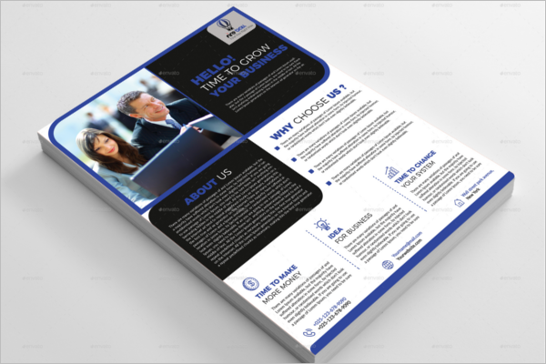 Corporate Office Flyer Design
