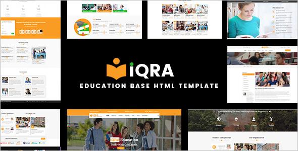Corporate Training Website Template