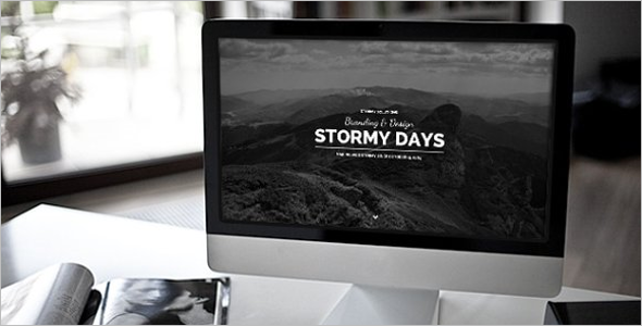 Corporate Vintage Blog Website Theme