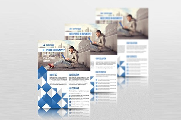 Corporate Word Flyer Template