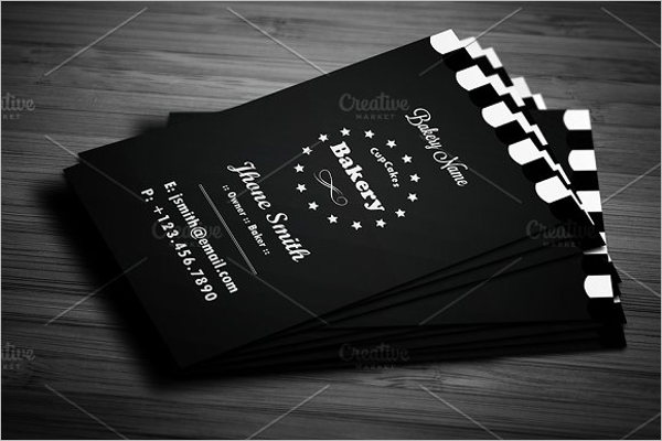 Creative Bakery Business Card
