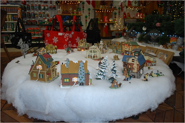 Creative Christmas Village Sets