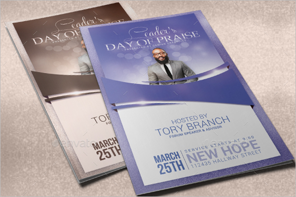 Creative Church Brochure Design