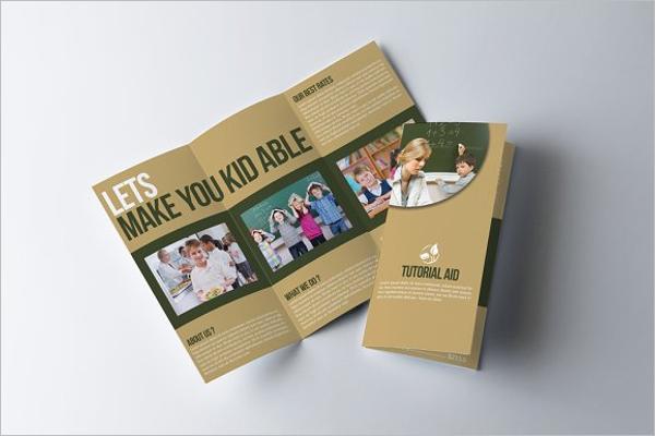 Creative Education Brochure Template