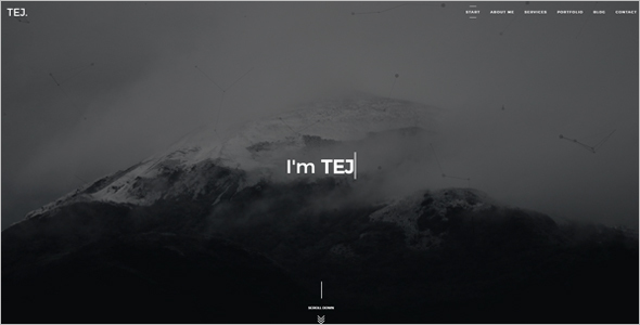 Creative Personal Website Template